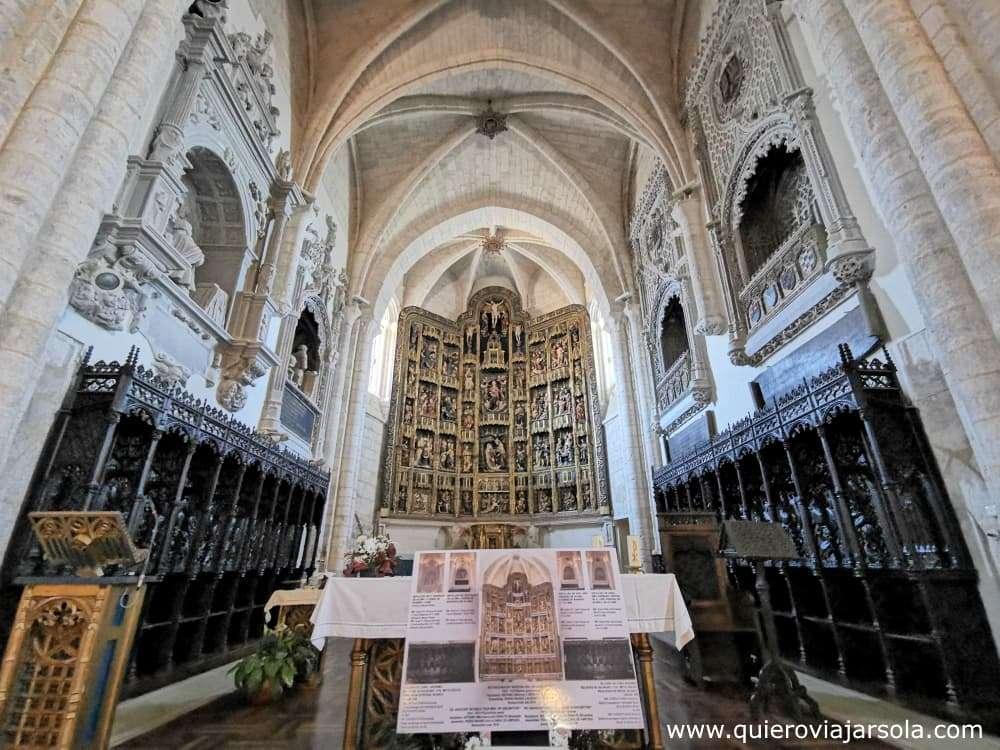 Que ver en Dueñas, iglesia de Santa María de la Asunción