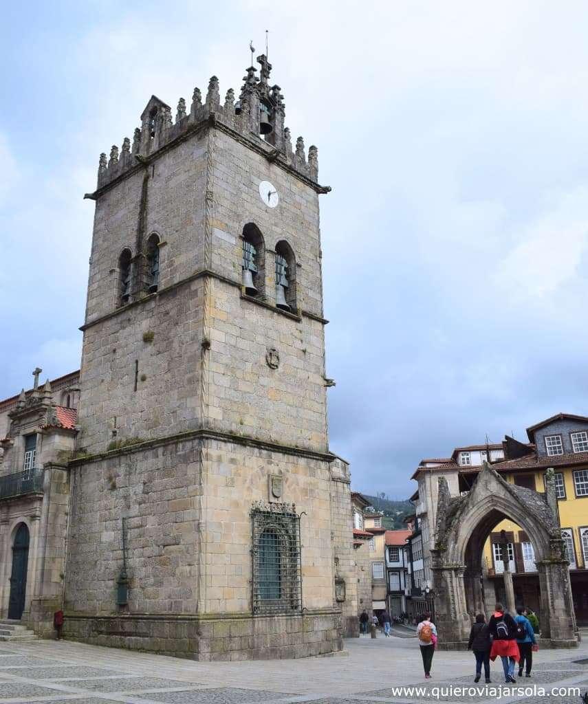 Que ver en Guimaraes, largo da Oliveira