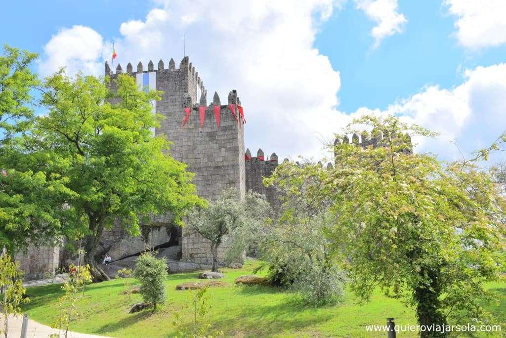 Qué ver en Guimaraes, castillo