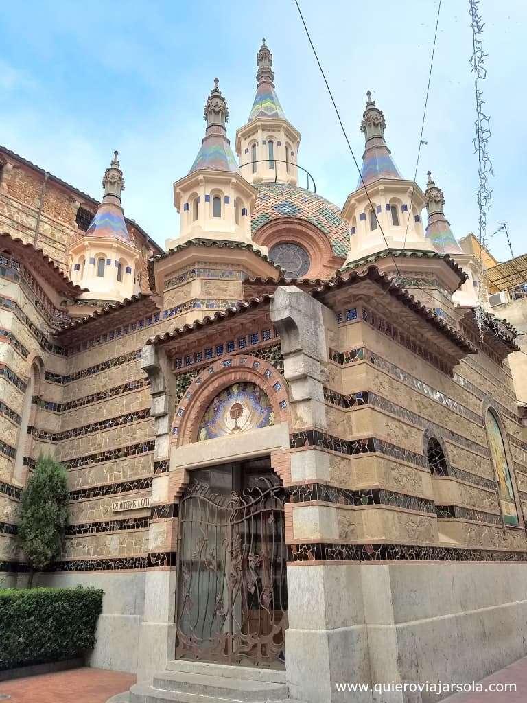 Qué ver en Lloret de Mar, iglesia de Sant Roma