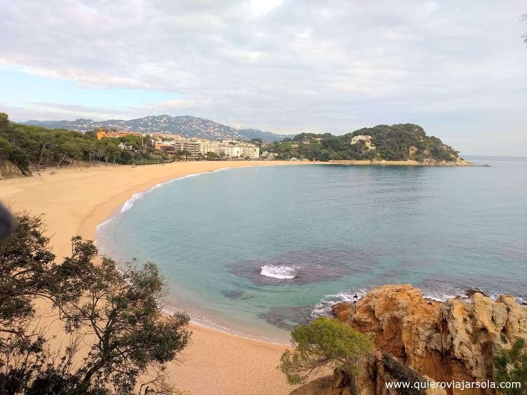 Qué ver en Lloret de Mar, playa de Fenals