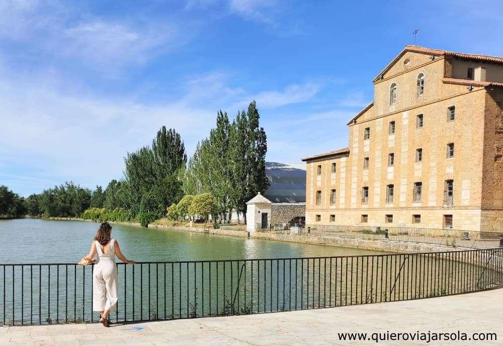 Qué ver en Medina de Rioseco, Canal de Castilla