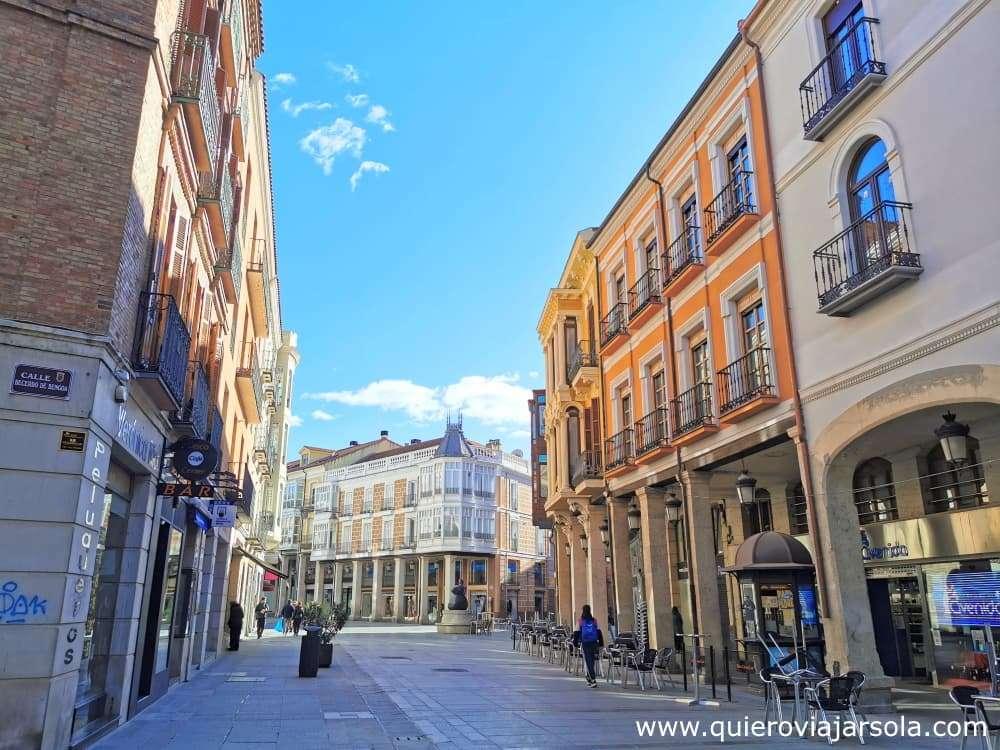 Que ver en Palencia, calle Mayor