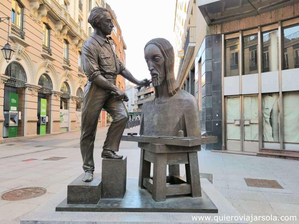 Que ver en Palencia, Cristo del Otero