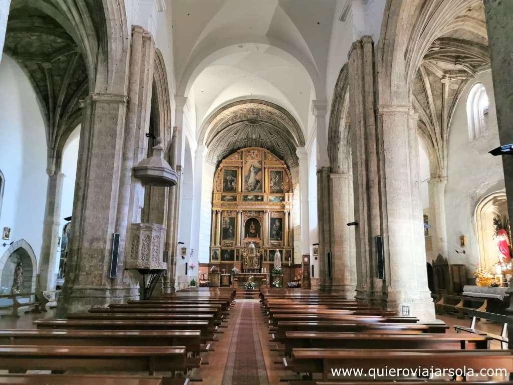 Qué ver en Paredes de Nava, iglesia de Santa María
