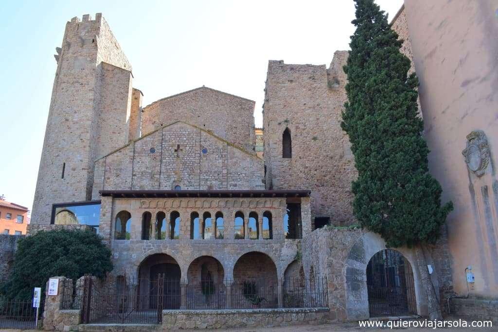 Qué ver en Sant Feliu de Guíxols, monasterio