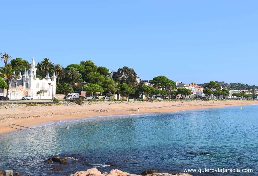 Qué ver en Sant Feliu de Guíxols, playa Sant Pol