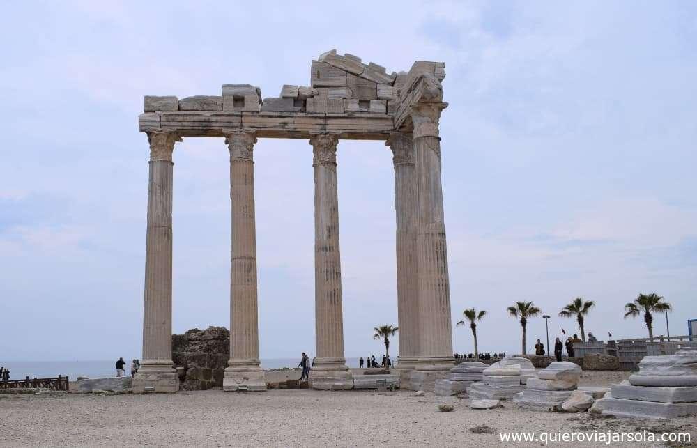Que ver en Side Turquía, Templo de Apolo