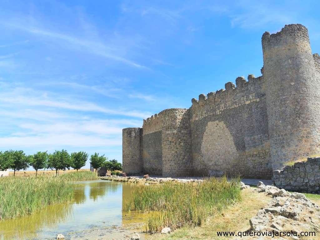 Que ver en Urueña Valladolid, castillo y lago