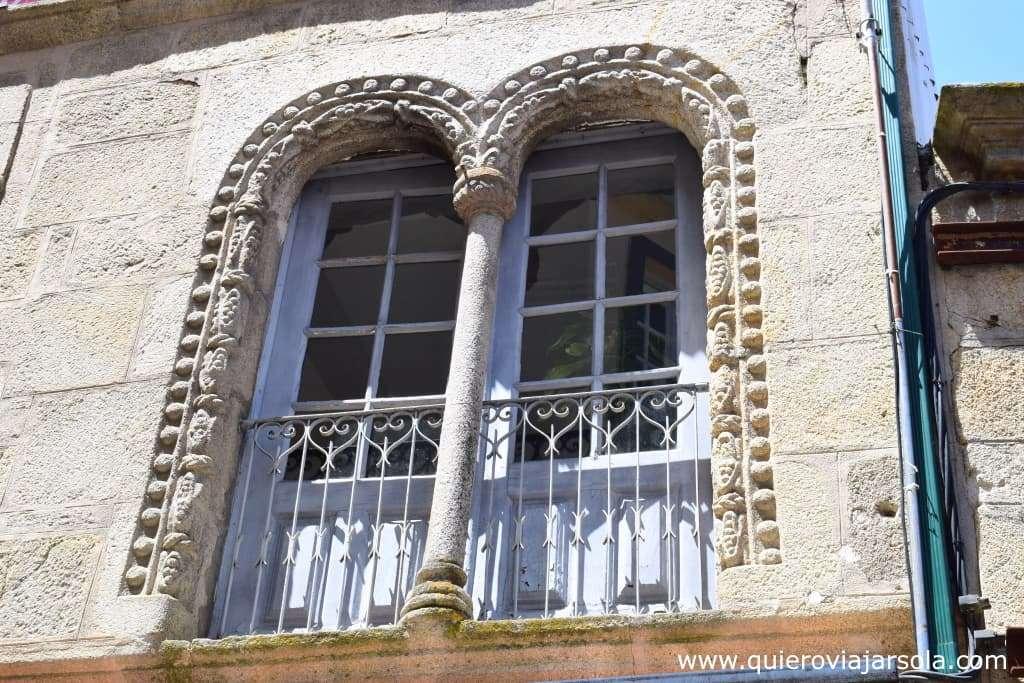 Qué ver en Viseu, ventana manuelina