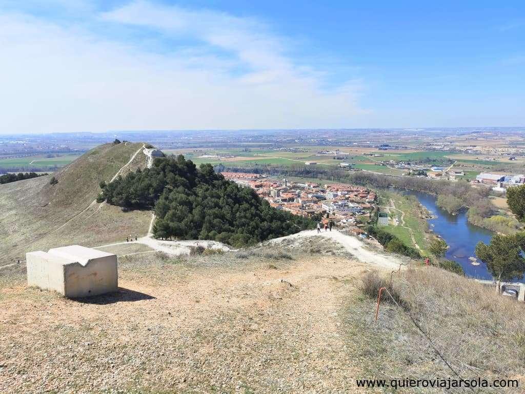 Senda de los Cortados del Pisuerga, cerro Altamira
