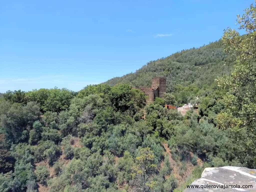 Sierra de Lousa, castillo