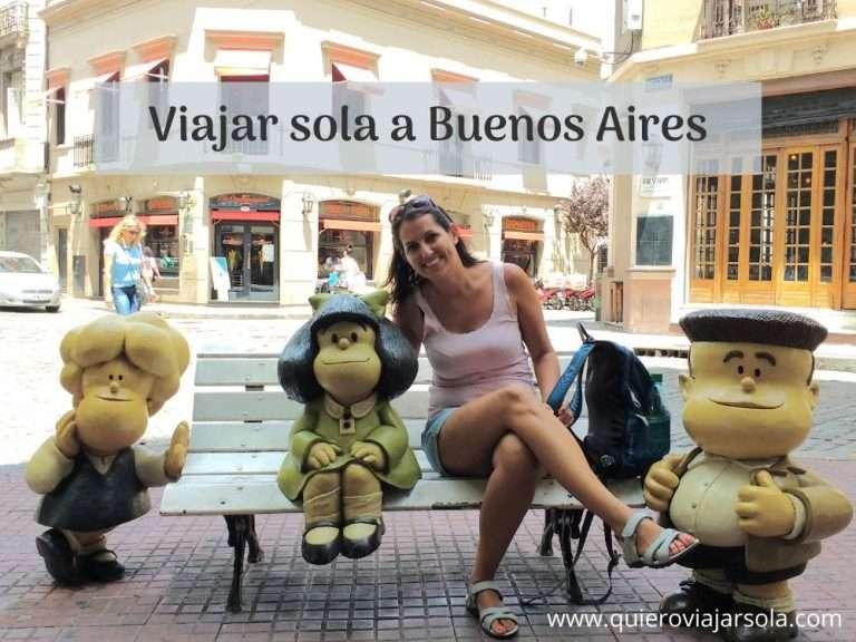 Viajar sola a Buenos Aires