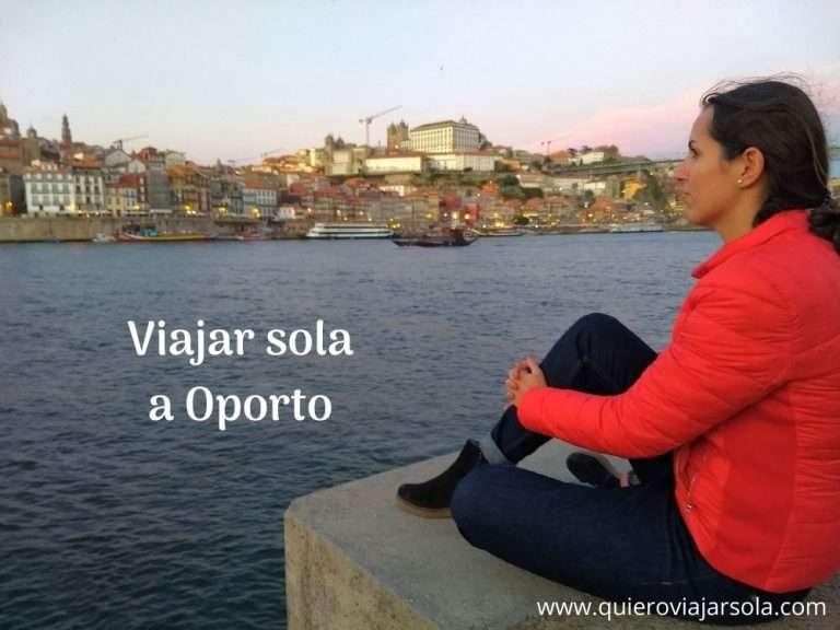Viajar sola a Oporto