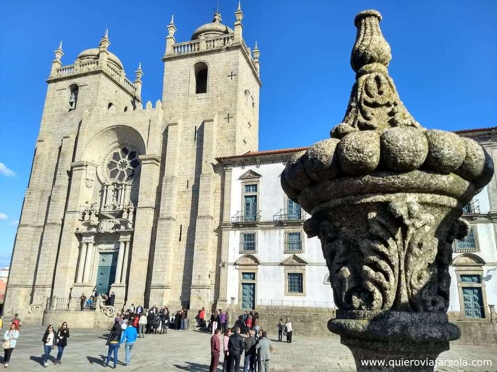 Viajar sola a Oporto, Catedral