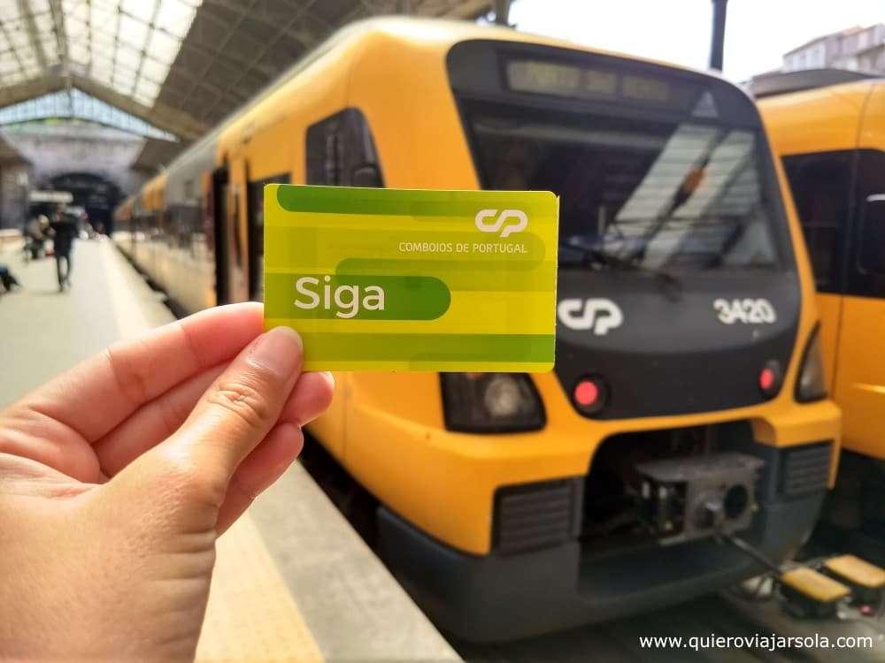 Viajar sola a Oporto, tren