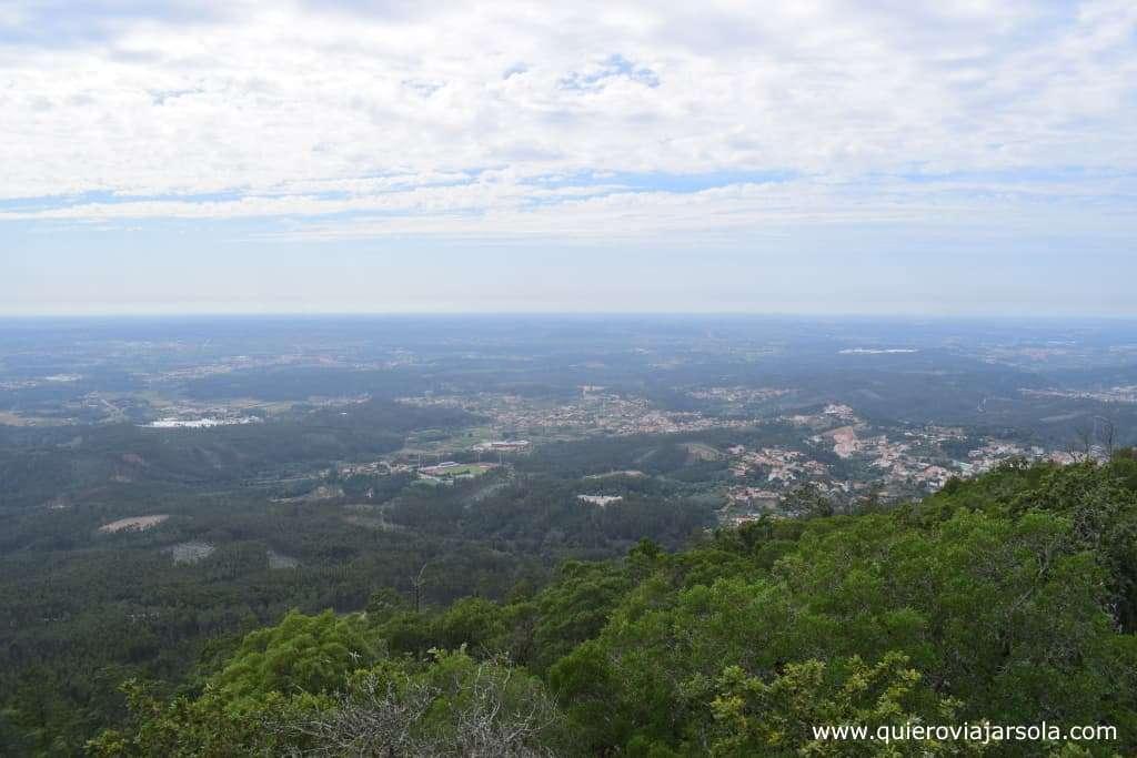 Visitar el Bosque de Busaco, vista de Luso
