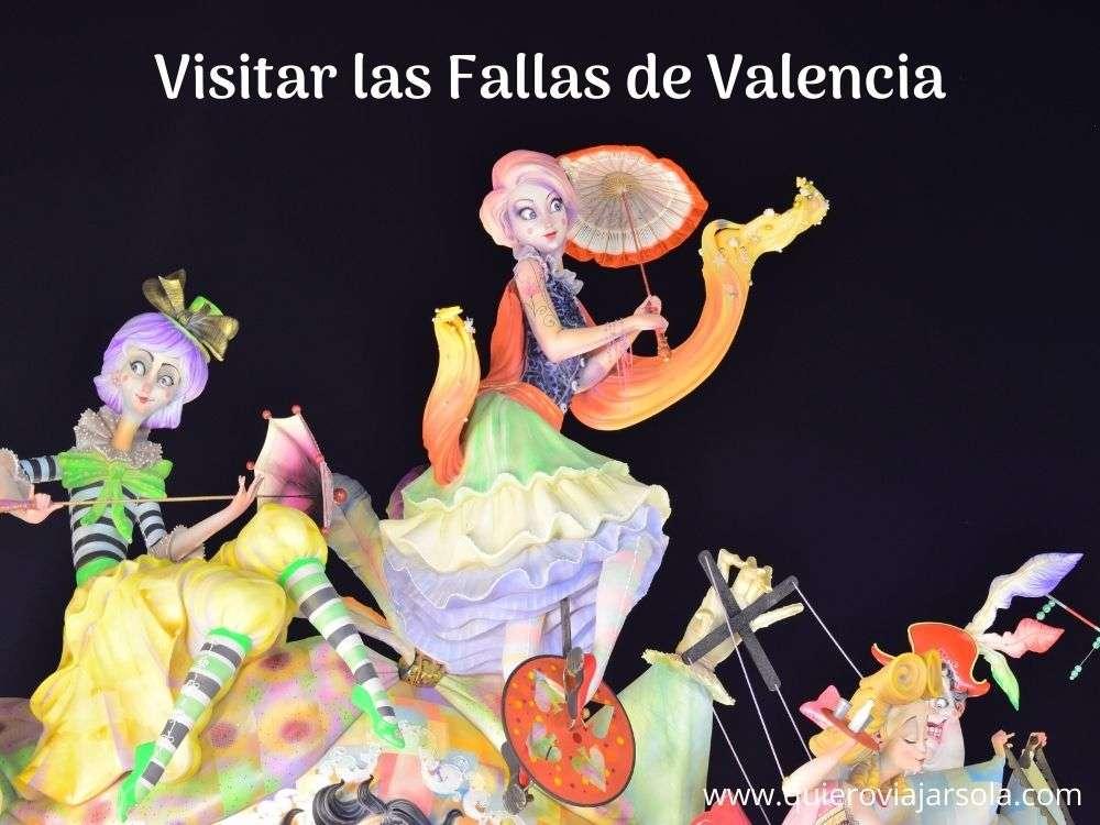 Visitar las Fallas de Valencia