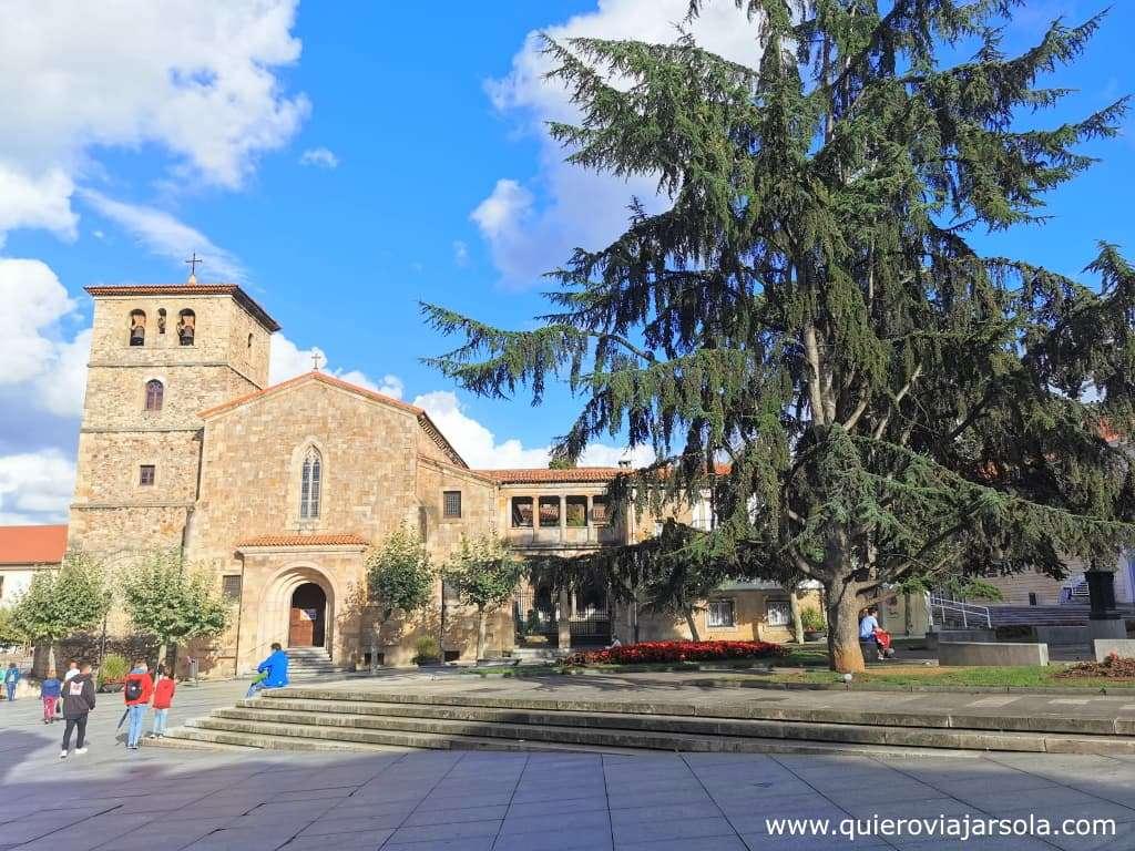 Qué hacer en Avilés, iglesia de San Nicolás de Bari