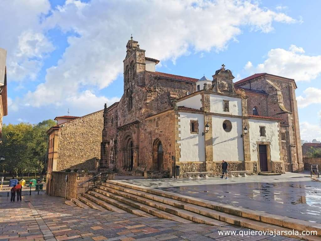 Qué hacer en Avilés, iglesia de los Padres Franciscanos