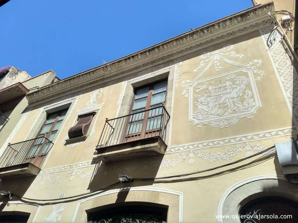 Qué hacer en Mataró, casa antigua