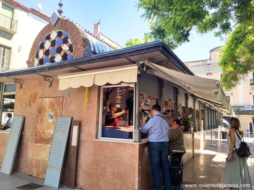 Qué hacer en Mataró, mercado de la plaza Gran