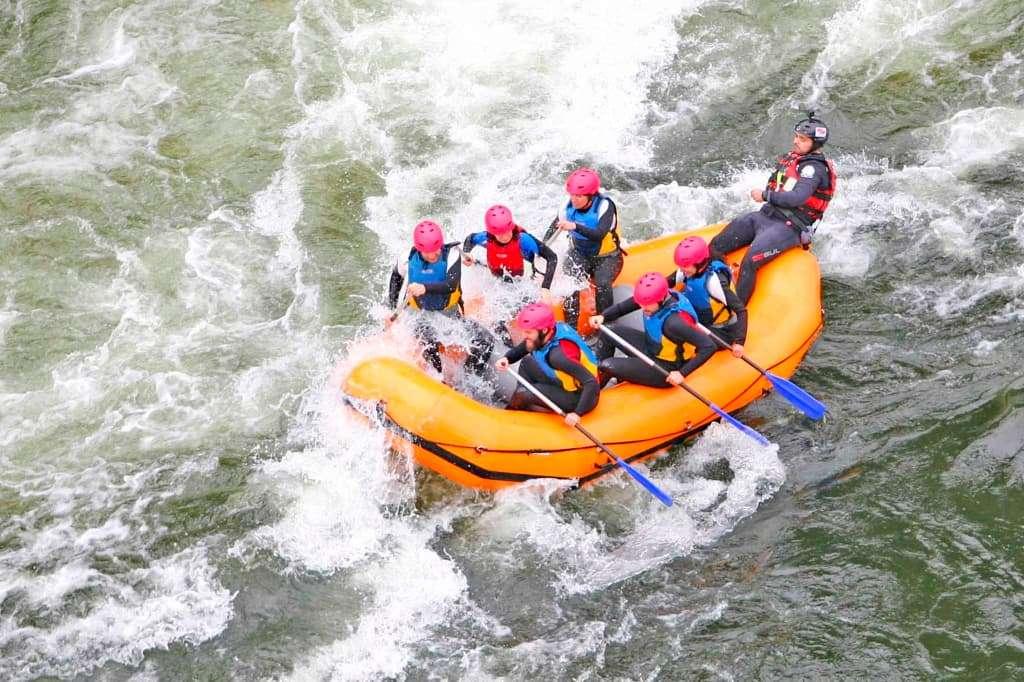 Qué hacer en Melgaco, rafting