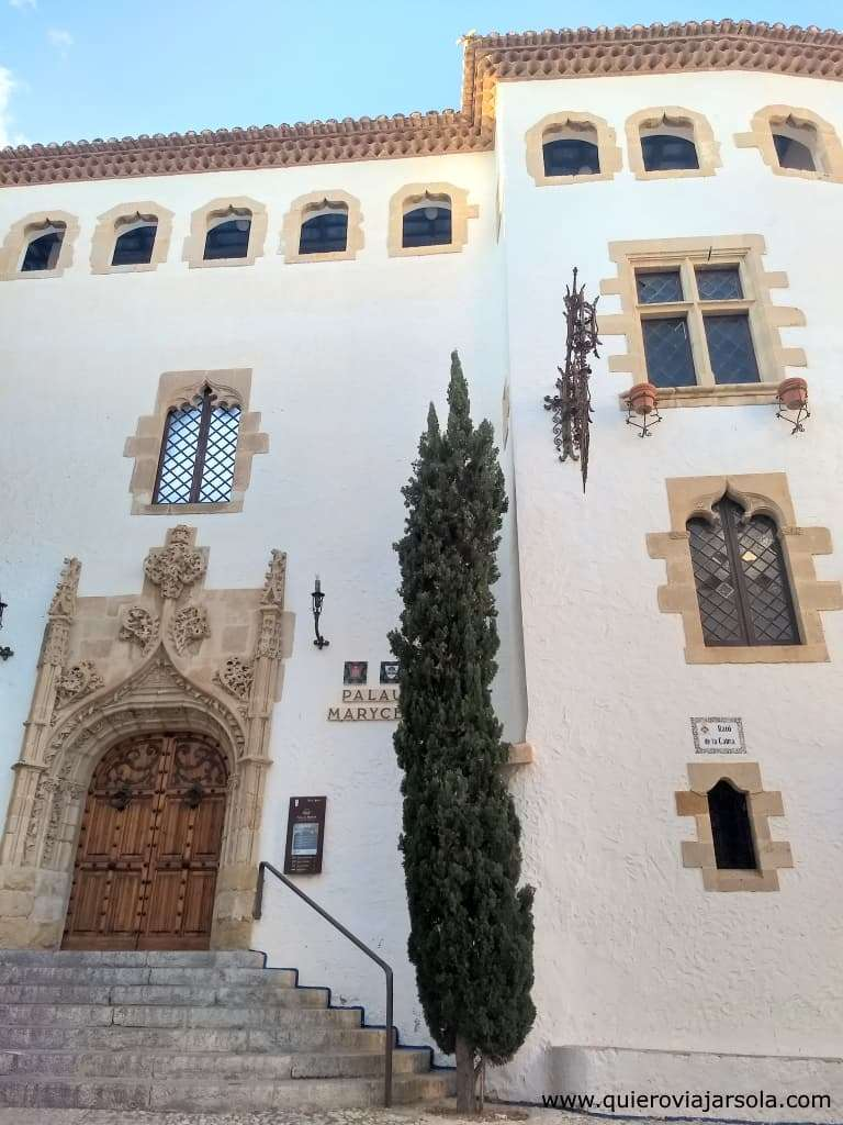 Que hacer en Sitges, Palacio Maricel