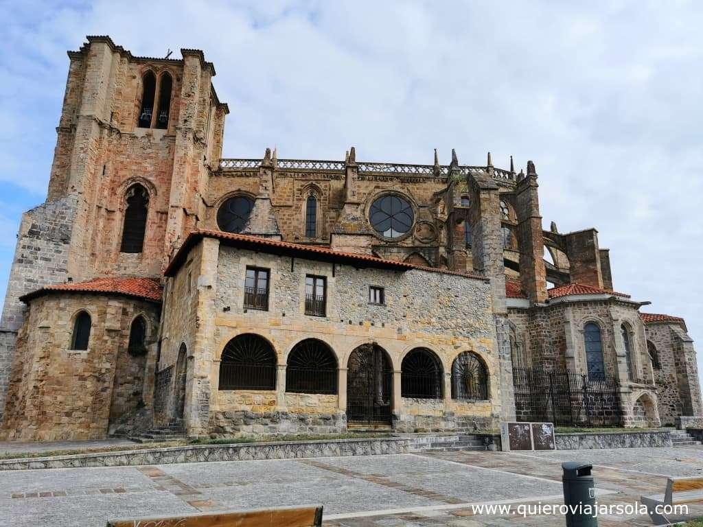Qué ver en Castro Urdiales, iglesia de Santa María de la Asunción