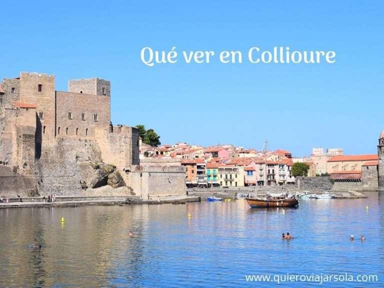 Que ver en Collioure