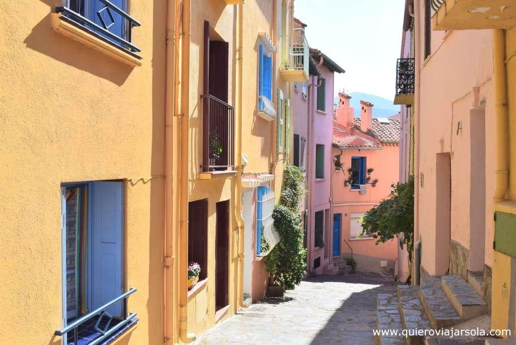 Que ver en Collioure, barrio pescadores