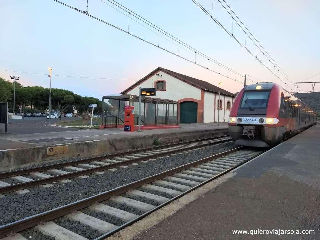 Que ver en Collioure, tren ter