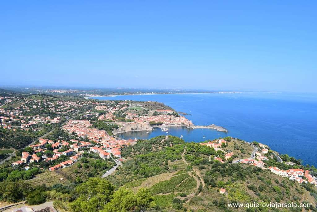Que ver en Collioure, vista San Telmo