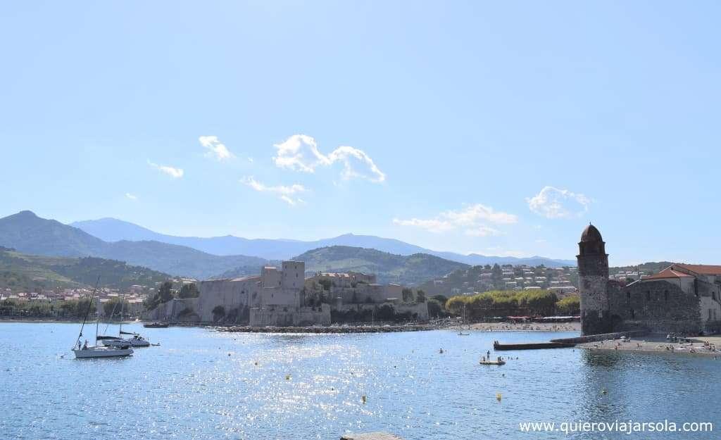 Que ver en Collioure, vista faro