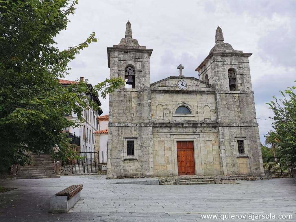 Qué ver en Colombres, iglesia de Santa María