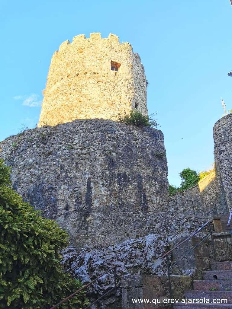Qué ver en Llanes, torre del castillo