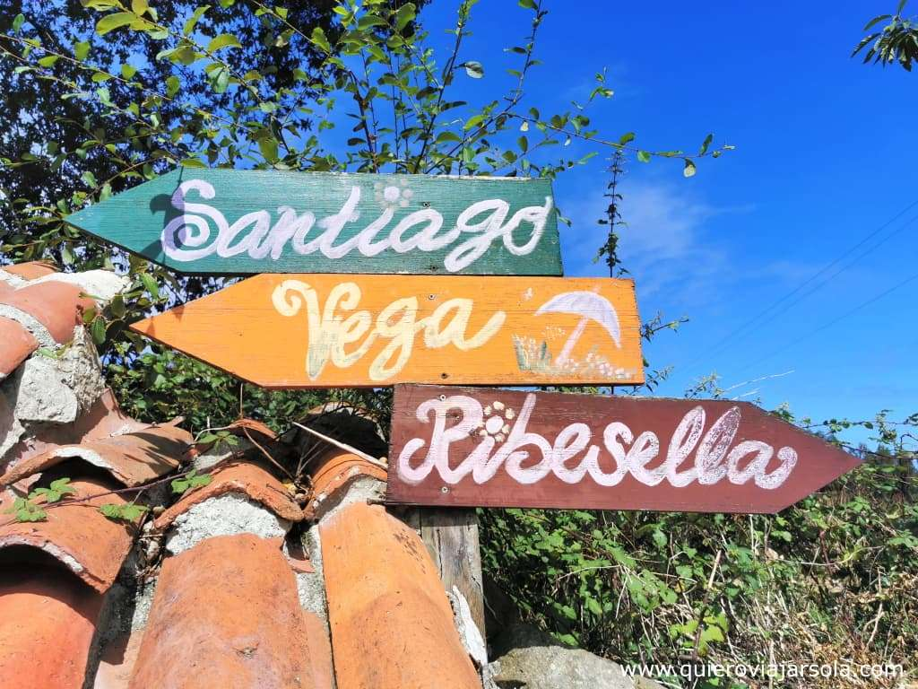 Que ver en Ribadesella, Camino del Norte