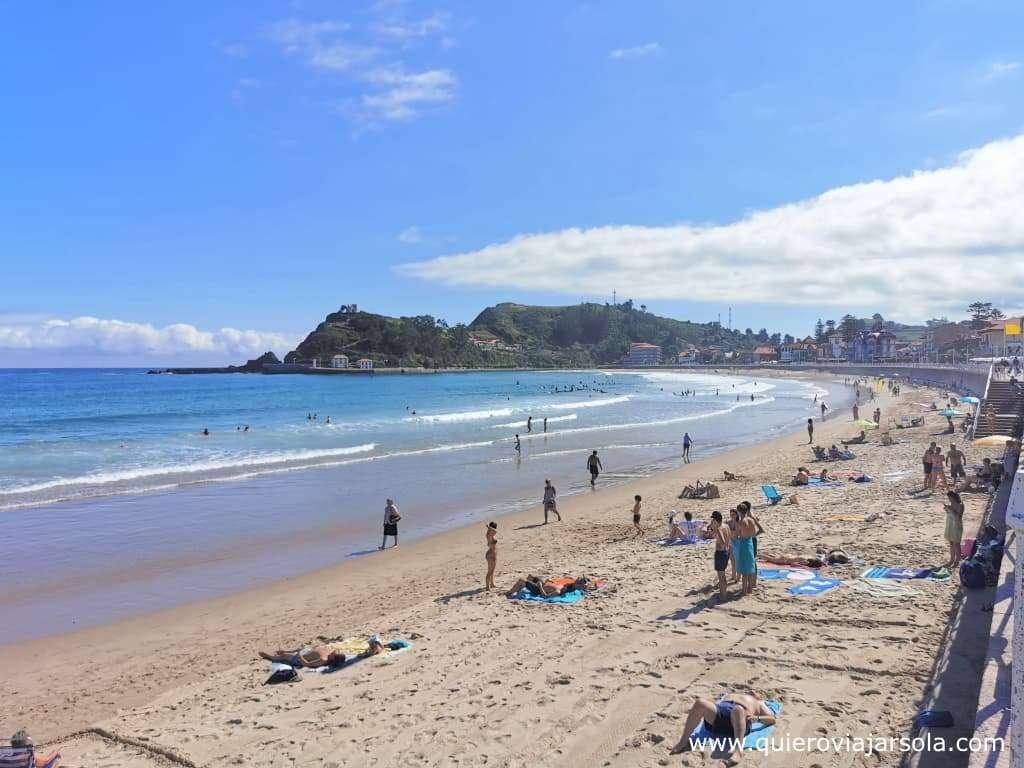 Que ver en Ribadesella, playa de Santa Marina