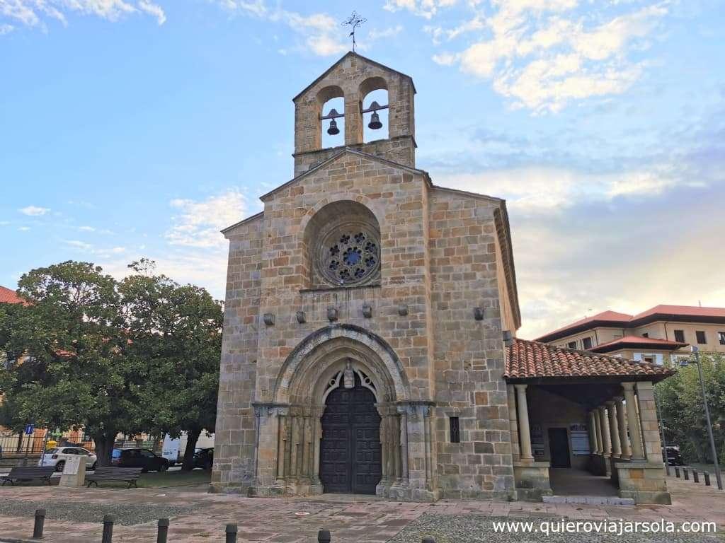 Qué ver en Villaviciosa, iglesia de Santa María de la Oliva