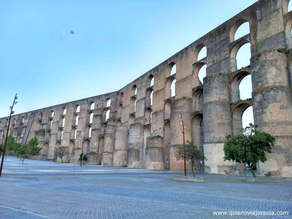 Qué ver en el Alentejo, acueducto de Elvas