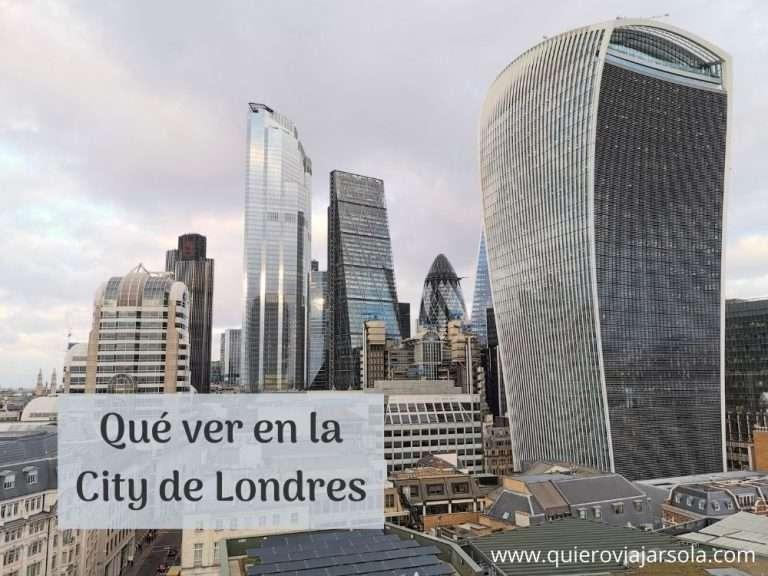 Qué ver en la City de Londres