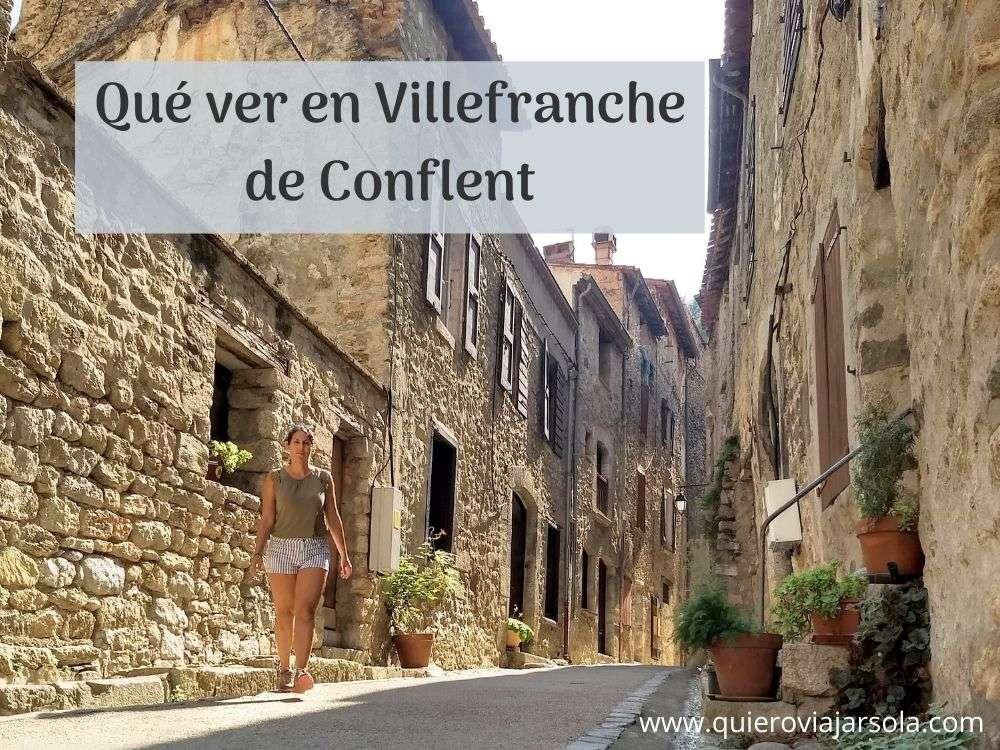 Villefranche de Conflent
