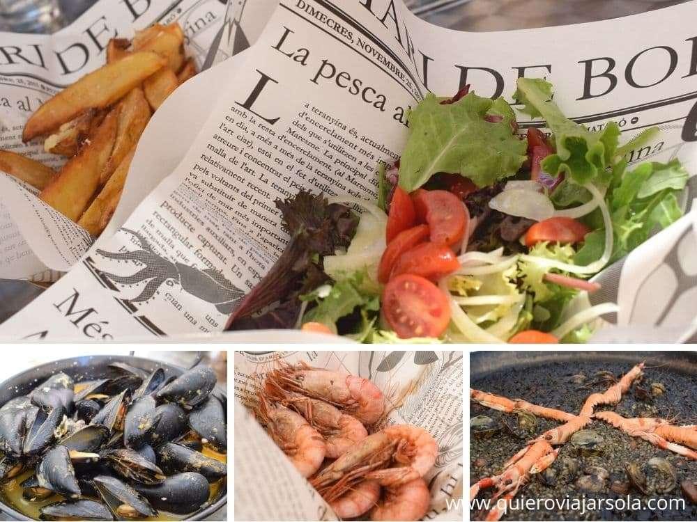 Visitar el Maresme, Peix Chips
