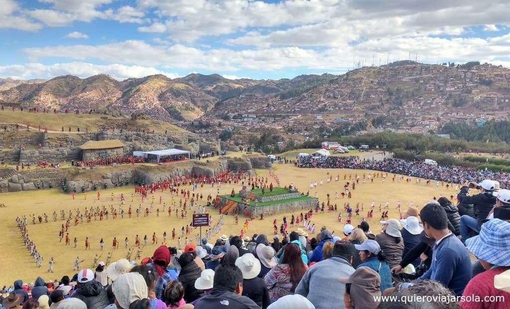 Inti Raymi en Cusco, Saqsaywaman