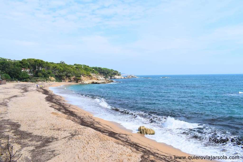 Qué hacer en Platja d'Aro, playa Rovira