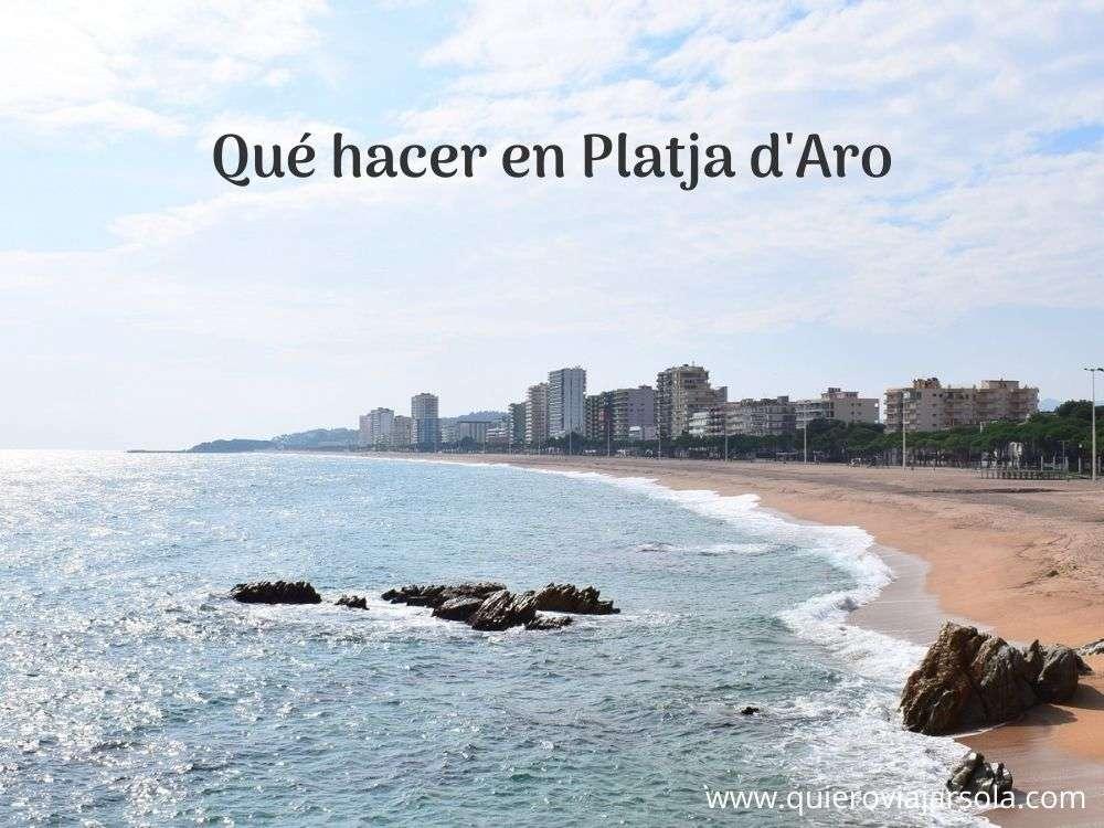 Qué hacer en Platja d'Aro