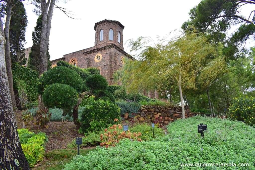 Qué ver en Calella de Palafrugell, Jardines de Cap Roig