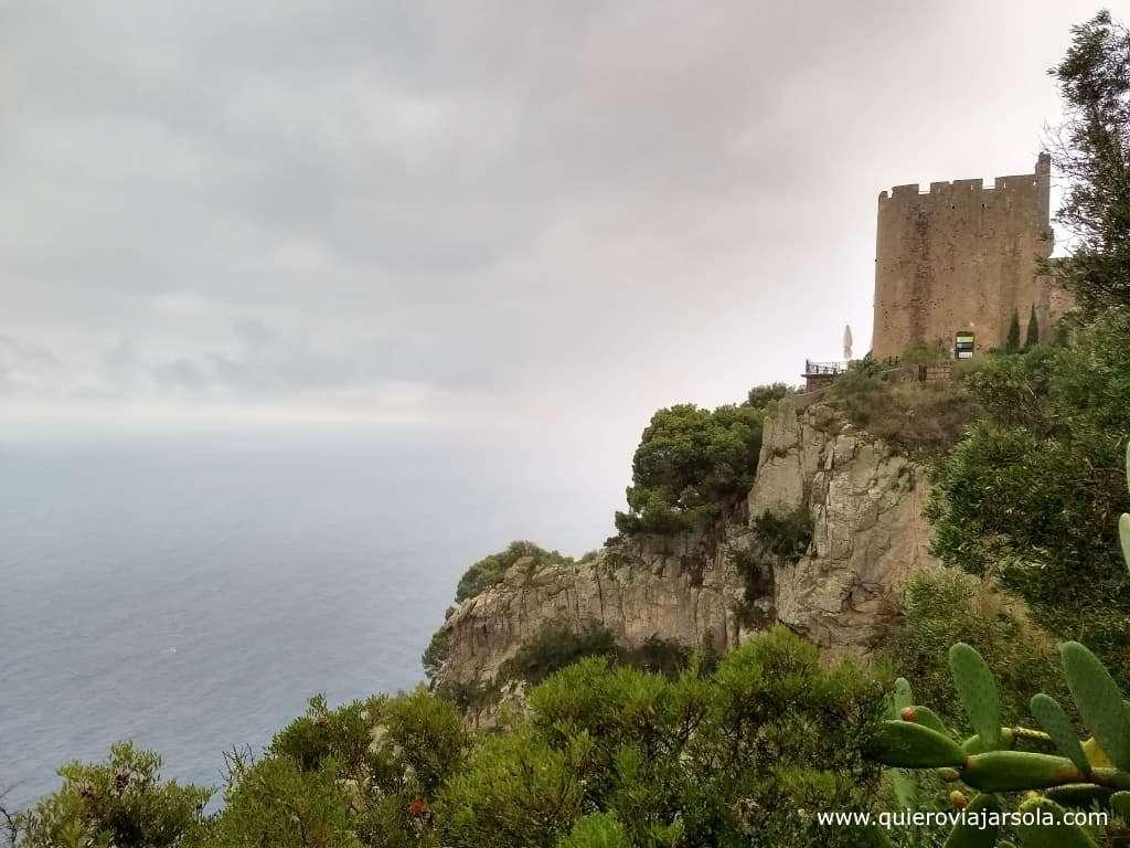 Qué ver en Llafranc, Torre de Sant Sebastiá