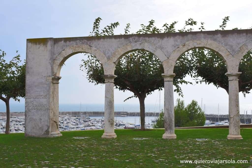 Qué ver en Palamós, ruinas convento Agustinos