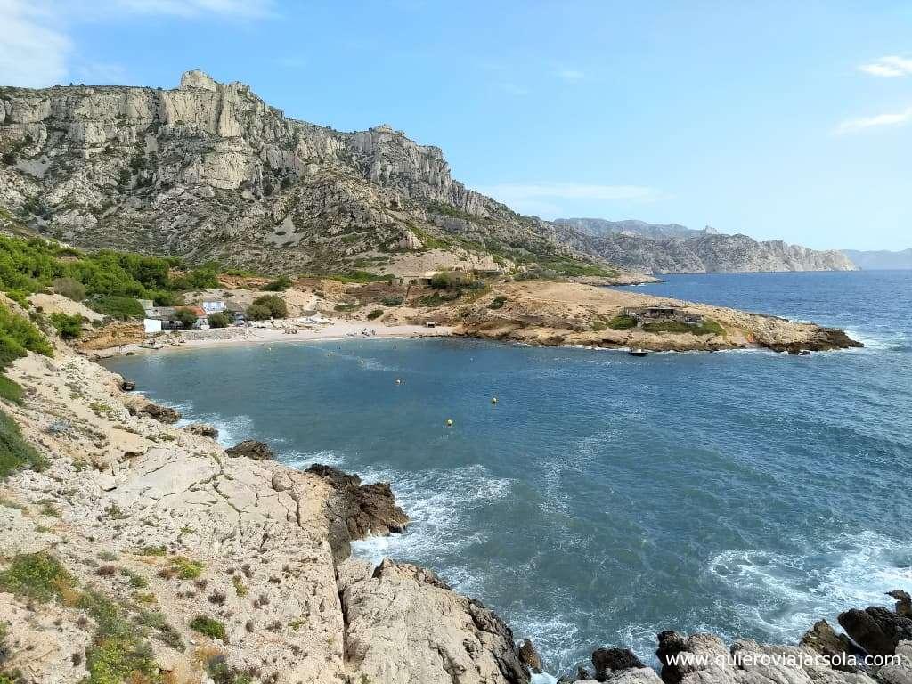 Visitar el Parque Nacional de Calanques, Calanque de Marseilleveyre